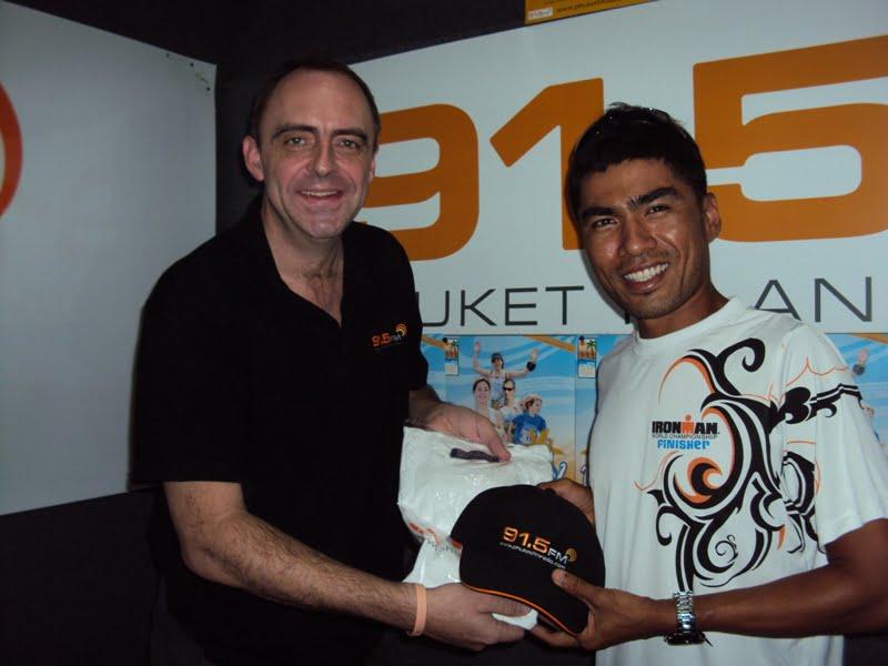 Jaray Jearanai at 91.5 FM Phuket