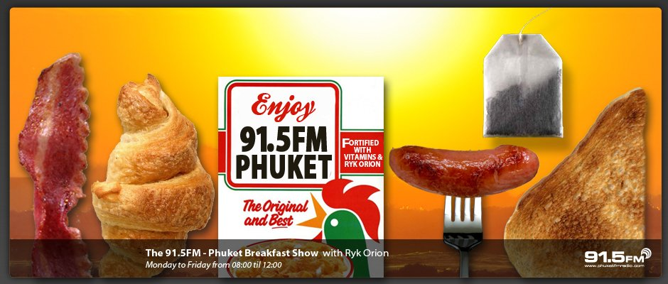 91.5FM Breakfast Show with Ryk Orion