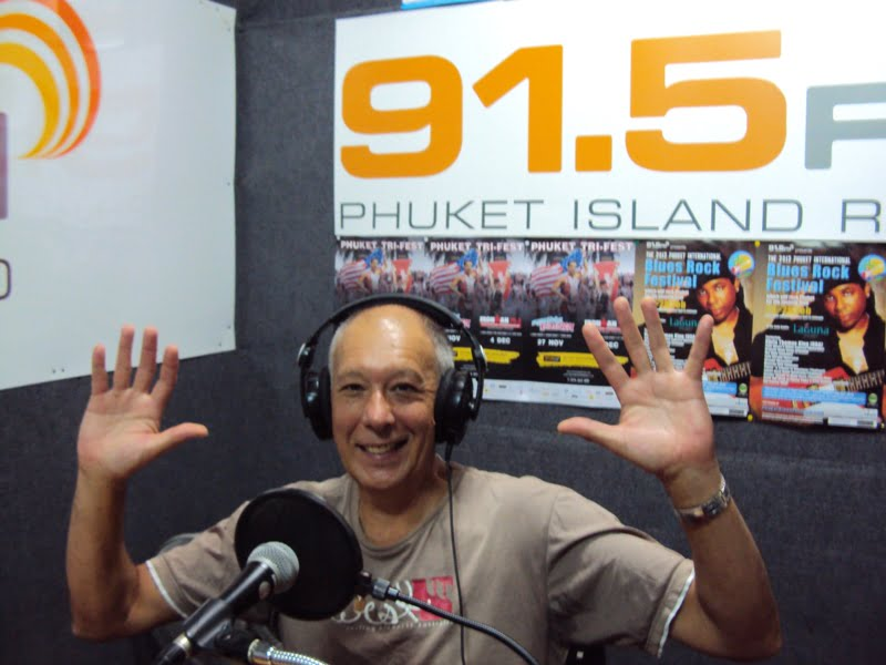 John Meyer at 91.5 FM Phuket